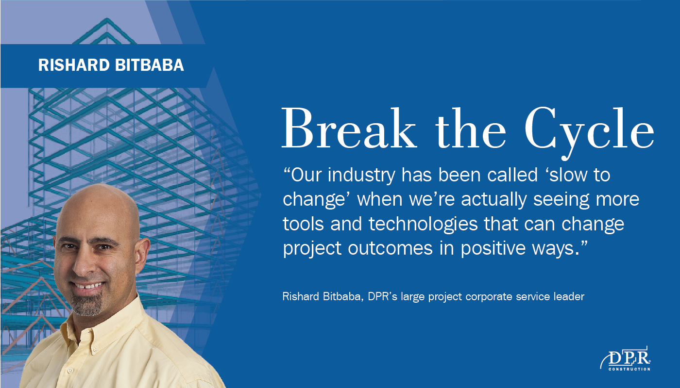 DPR's Rishard Bitbaba and a quote from the upcoming section.
