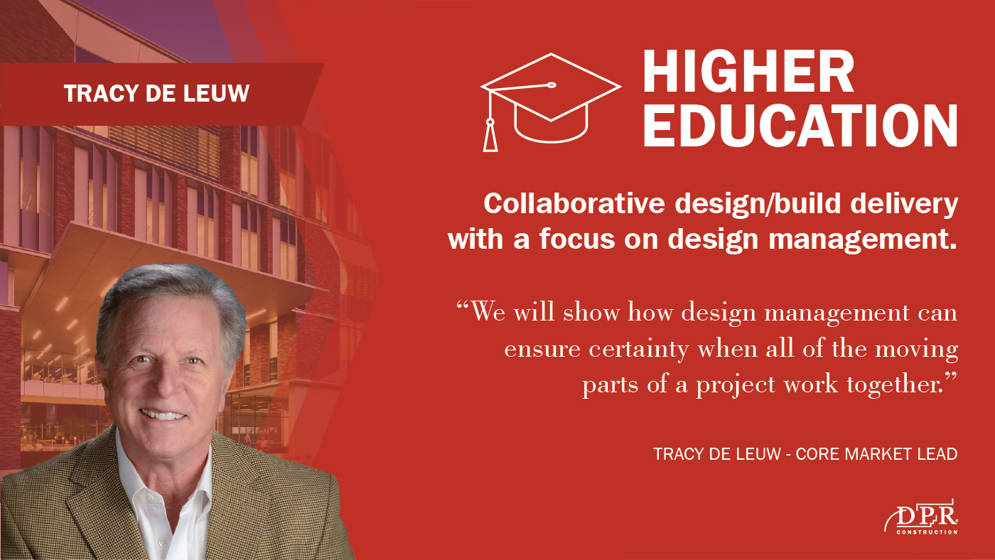 Tracy de Leuw believes design management will be a key factor in 2020.