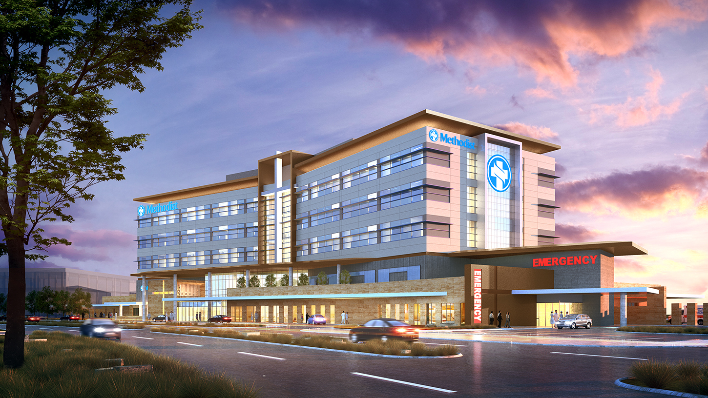 New Methodist Health System Hospital Breaks Ground in