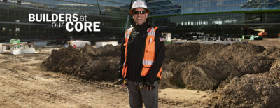 Marc Agulla on his Orlando, FL job site.