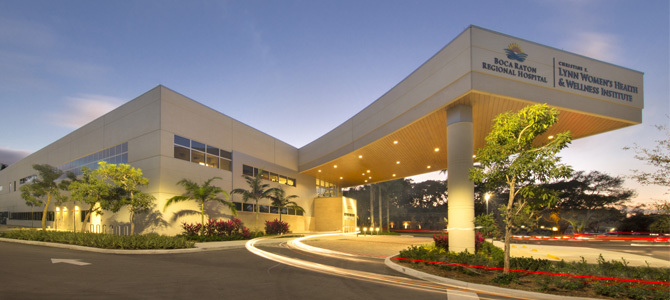 Boca Raton Regional Hospital Christine E. Lynn Health & Wellness Institute