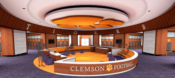 Clemson Alum And Dpr Project Team All In At Clemson