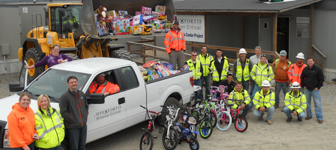 Toys For Tots Foundation Florida : Community initiatives dpr construction