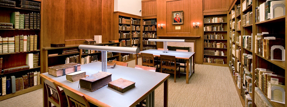 Room In Fuller Theological Library