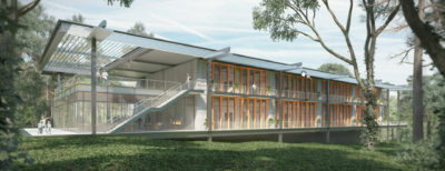 Camp Southern Ground Lodge Rendering