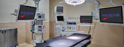 Wellstar Paulding Operating Room with equipment.