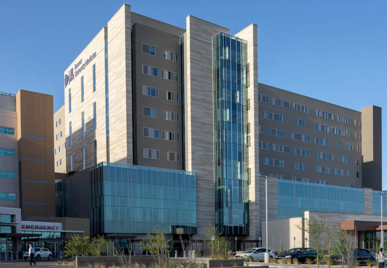 Exterior photo of Banner-University Medical Center office building