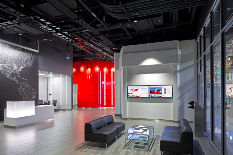 Confidential Colocation Data Center Lobby