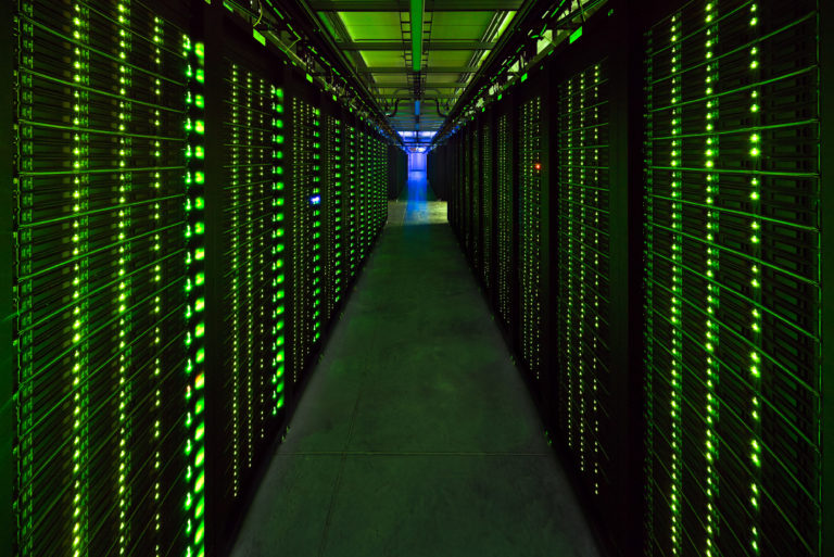 Facebook Prineville Data Center Server Room