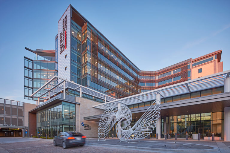 Exterior Baptist MD Anderson Cancer Center