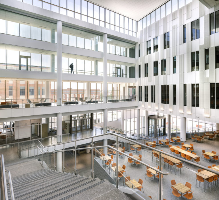 Clemson College of Business Interior with Stairs