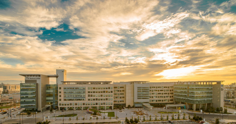The UCSF Medical Center building