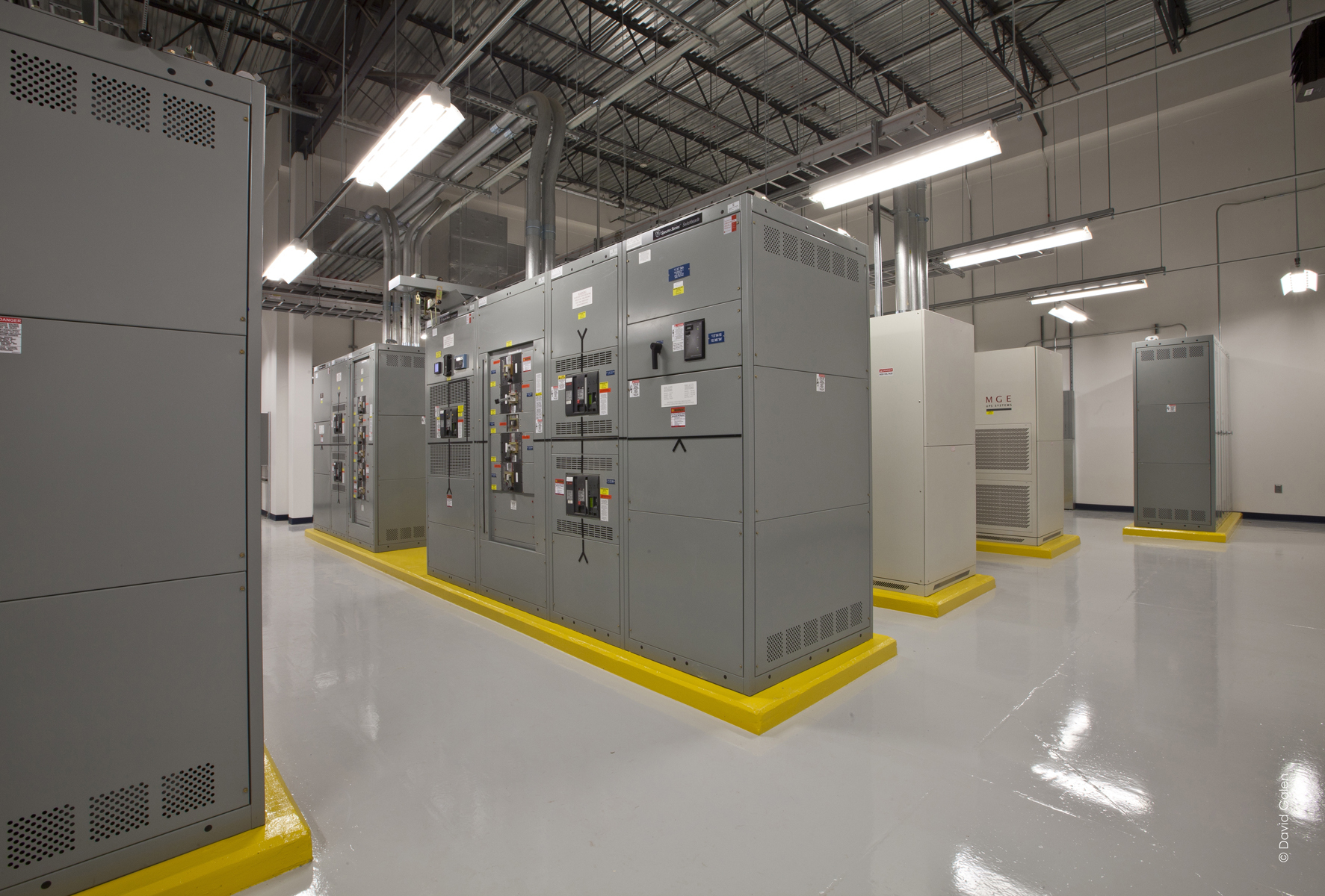 DLR Loudoun Exchange Data Center interior