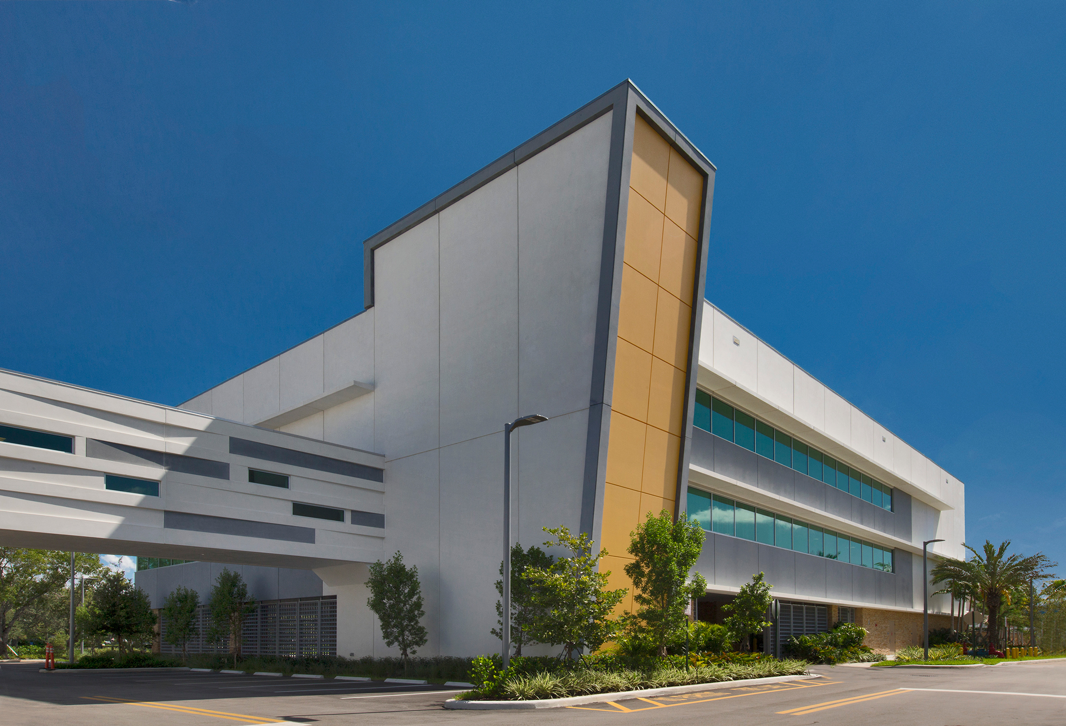 Exterior of HBO Data Center in Florida