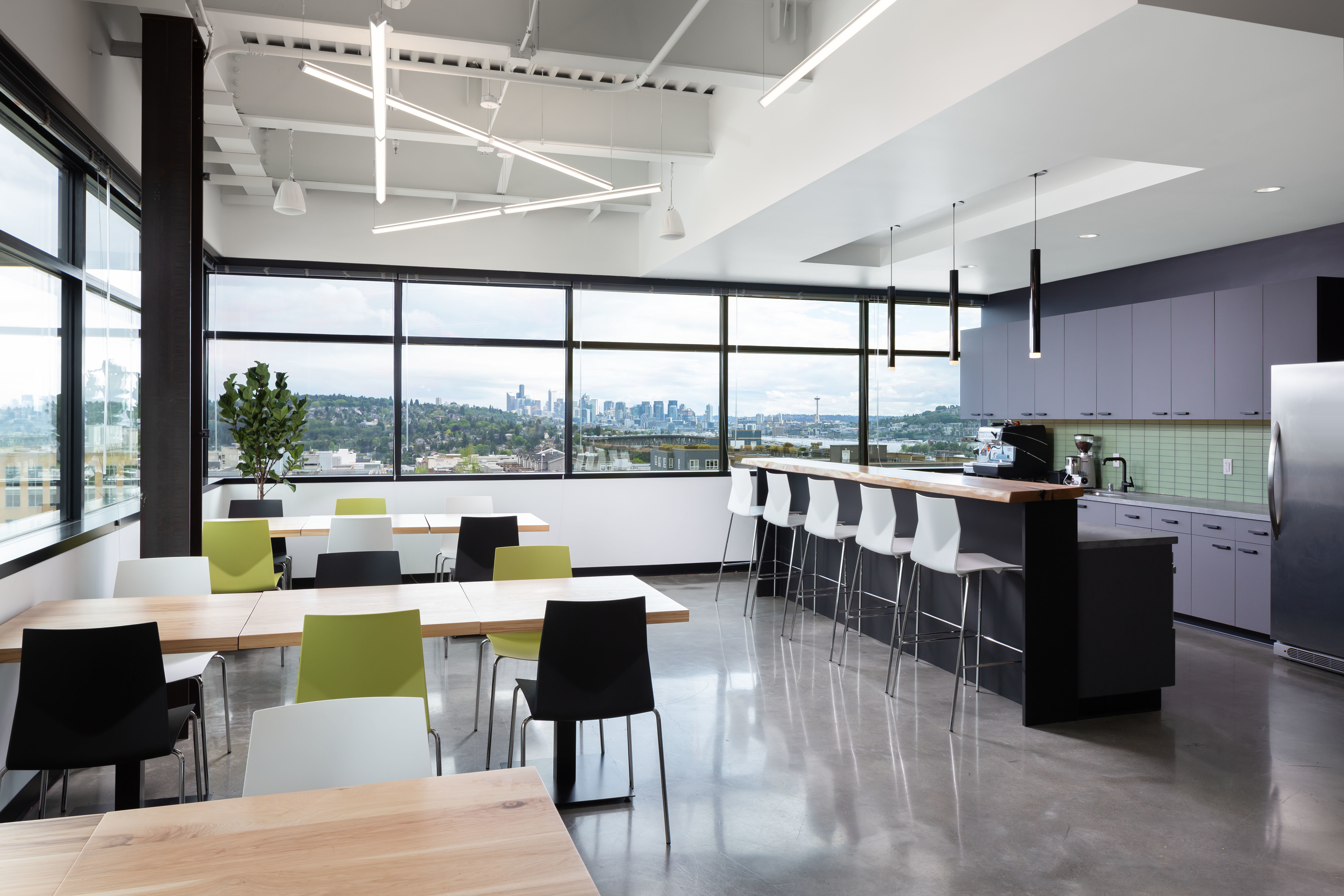 cafeteria area with chairs