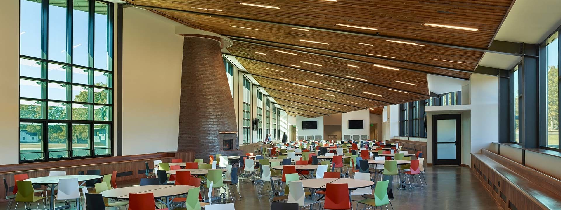 Interior dining hall