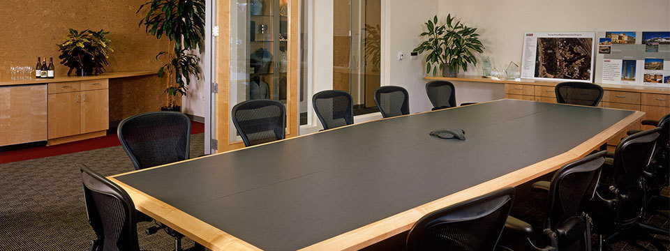 conference room with seating