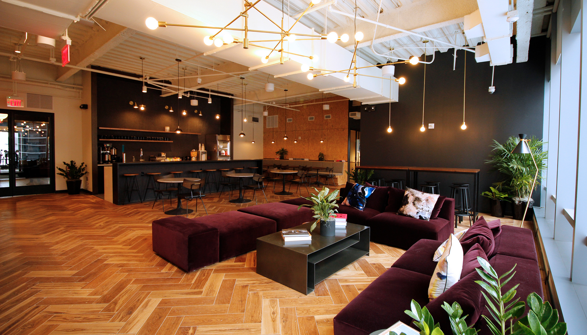 cafe and lounge interior
