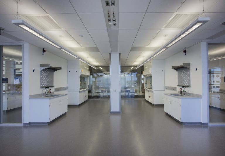 Interior of an FIU facility room.