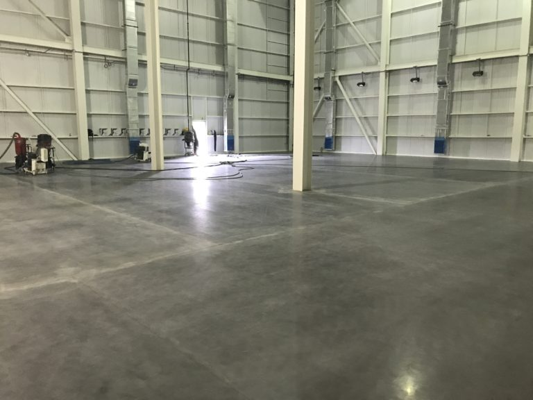 Interior of the finished floor and storage space